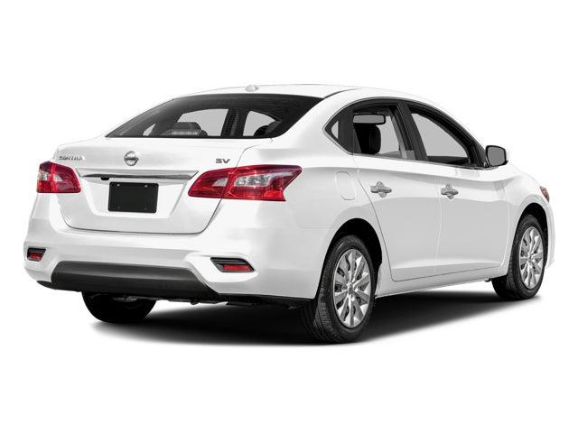 Nissan Sentra Sv >> 2017 Nissan Sentra Sv Sedan