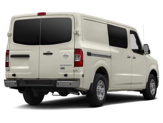 2018 nv cargo nv2500 hd sl v6 rear-wheel drive cargo van - dealer in