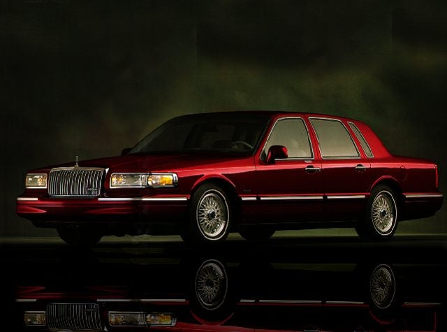 1997 Lincoln Town Car Executive Sedan Dealer In Greer South
