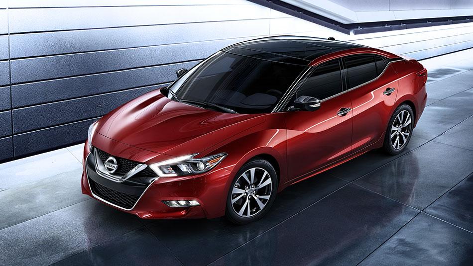 Futuristic 2016 Nissan Maxima Boasts More Power Uses Less Fuel